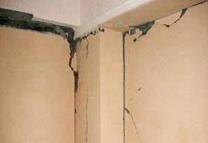 Dinding rumah retak, kenali penyebab retaknya.